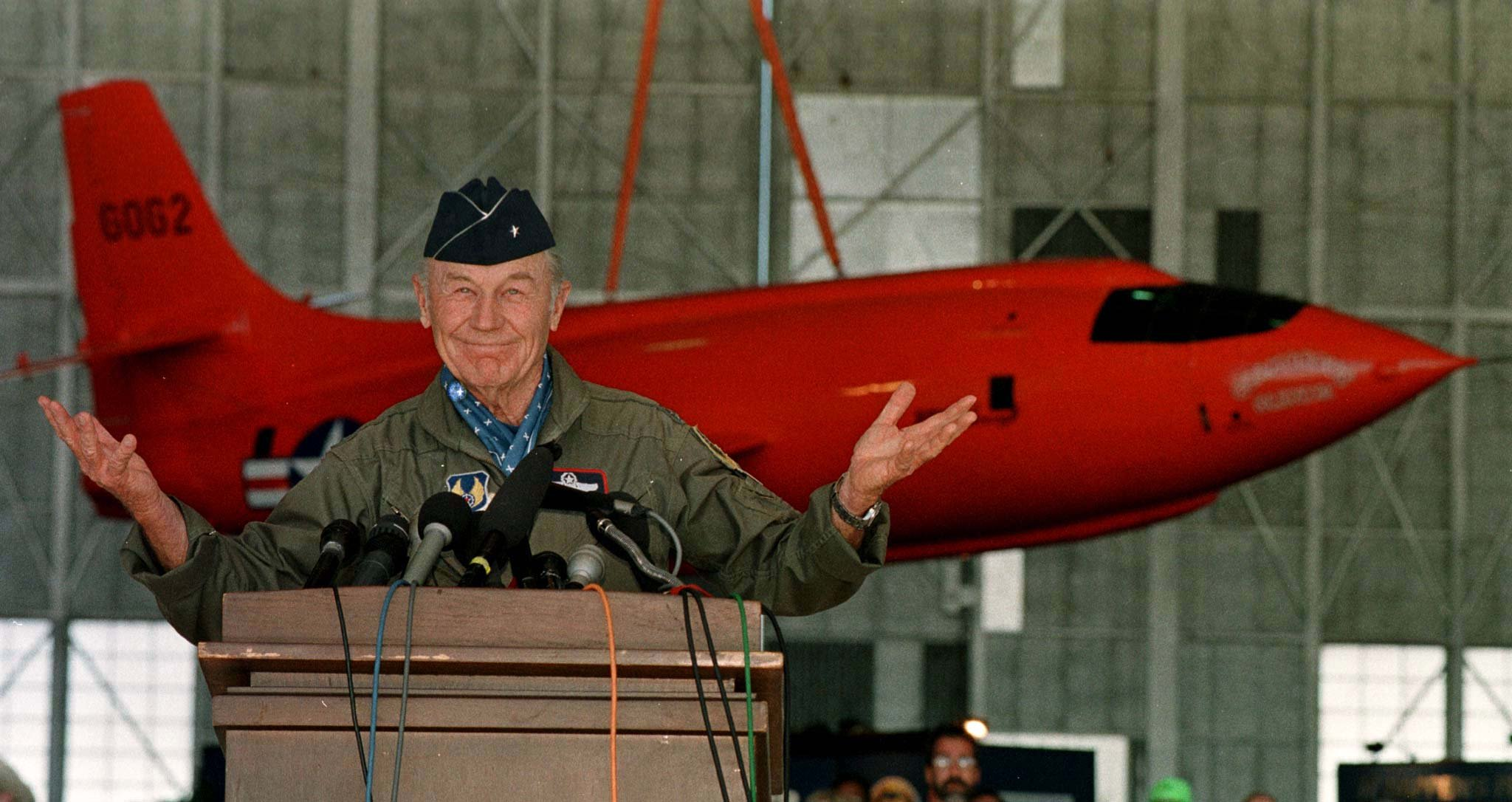 Chuck Yeager dnes