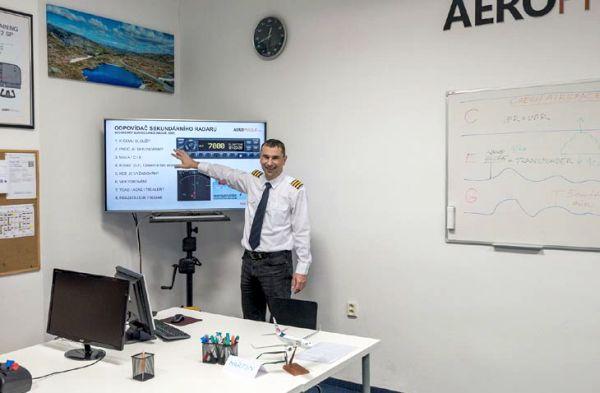 Letecká škola AeroPrague otevírá 30. listopadu intenzivní kurz teorie pro piloty PPL/ULL