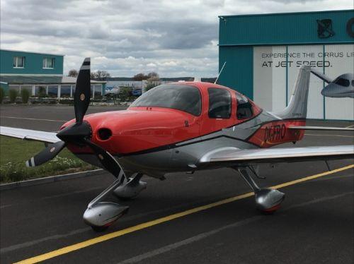Test letadla: Cirrus šesté generace