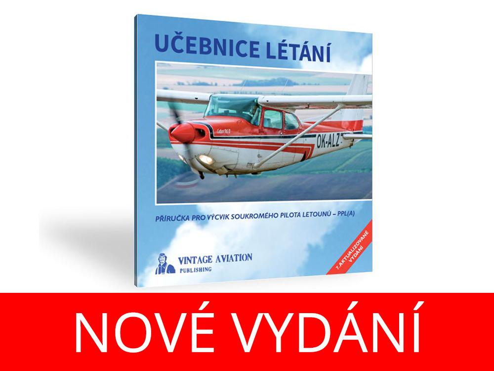 Vyšel dotisk nejpopulárnější Učebnice létání, je skladem ihned k odeslání