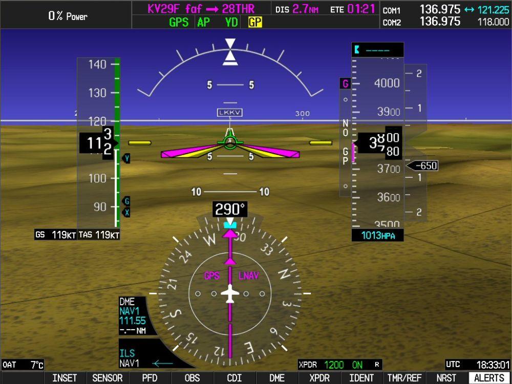 Změny pro IFR piloty: Performance Based Navigation