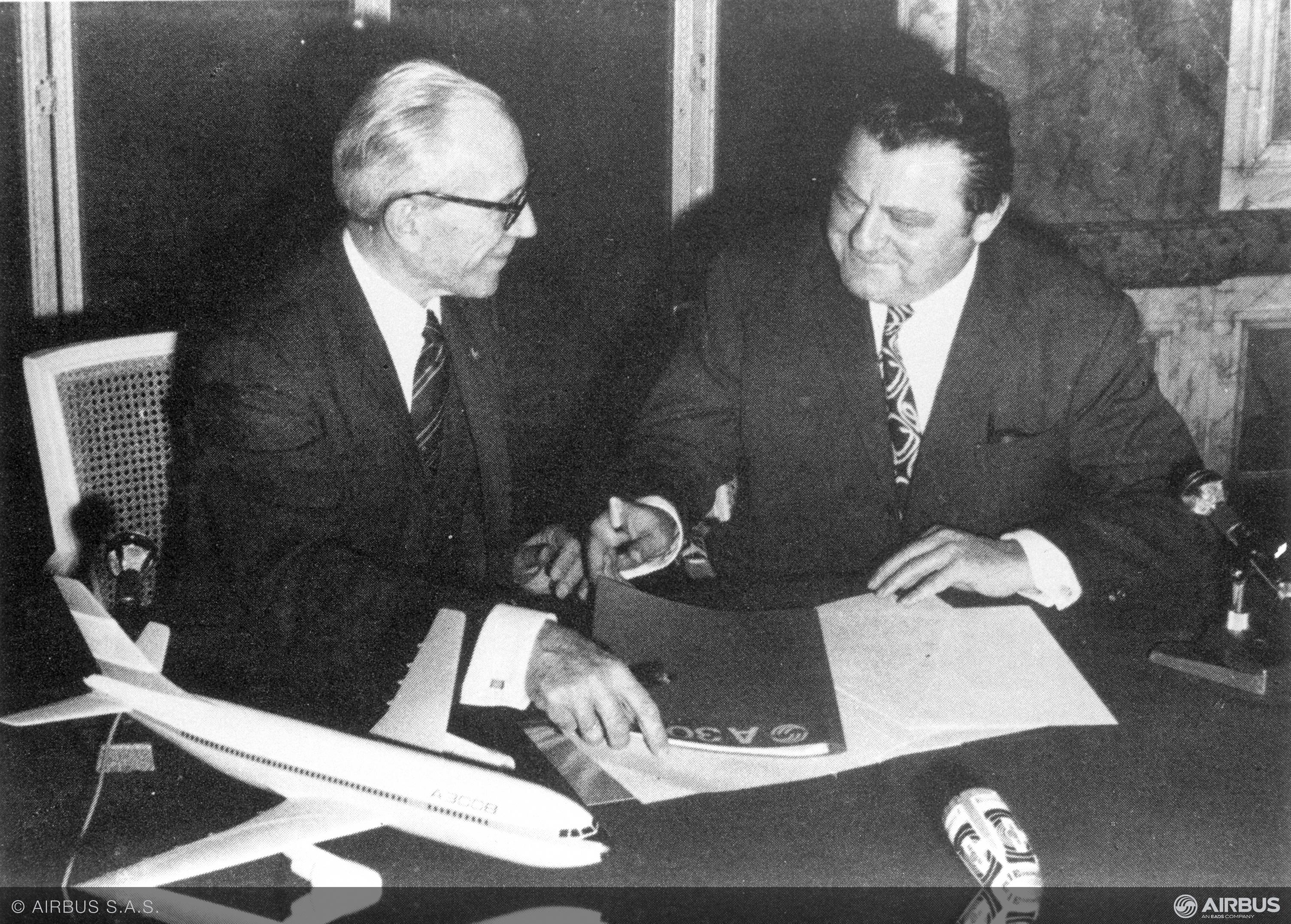 Od dvou podpisů, které daly vzniknout Airbusu, uběhlo 50 let