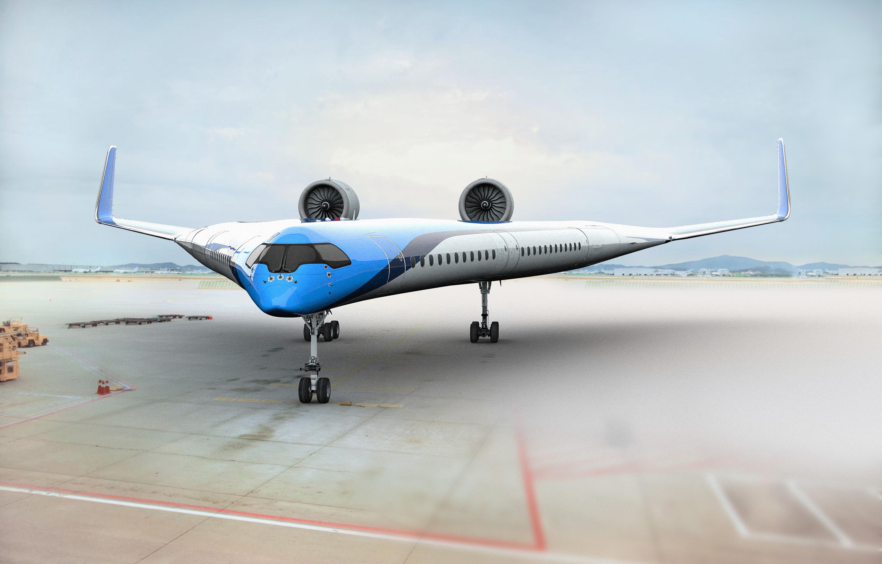 Futuristický letoun má snížit emisní dopad, investuje do něj i KLM