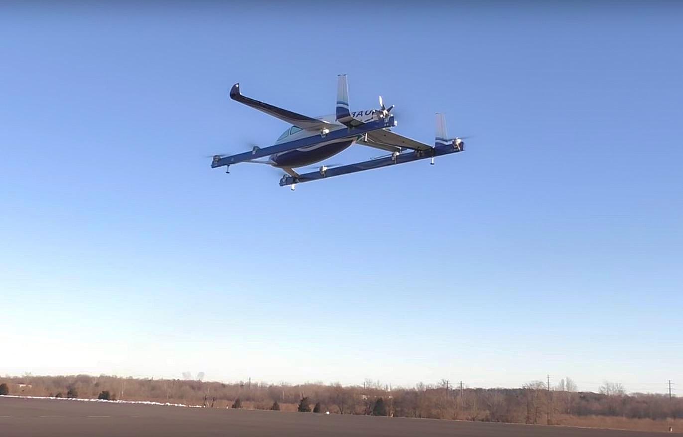 EASA přichystala první část pravidel pro elektrická a hybridní VTOL letadla
