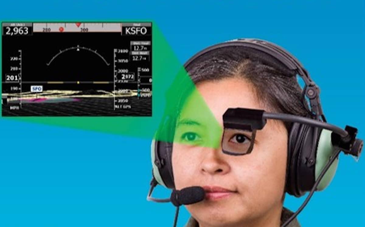 """""""Virtuální"""" kokpit. Displej PilotVision má ambici nahradit zákl. přístroje"""