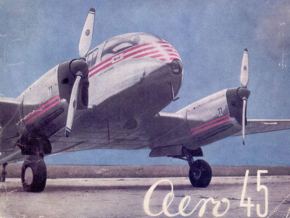 Očima pilotů: Aero Ae-45
