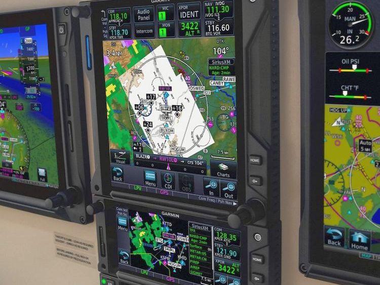 Garmin představil novou generaci letových navigací řady GTN