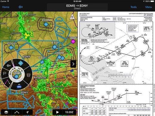 Garmin vydal novou verzi své aplikace, pilotům usnadní především plánování