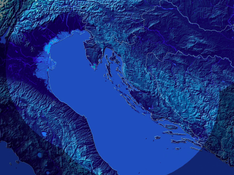 Bouře nad Jaderským mořem nově monitorují dva radary