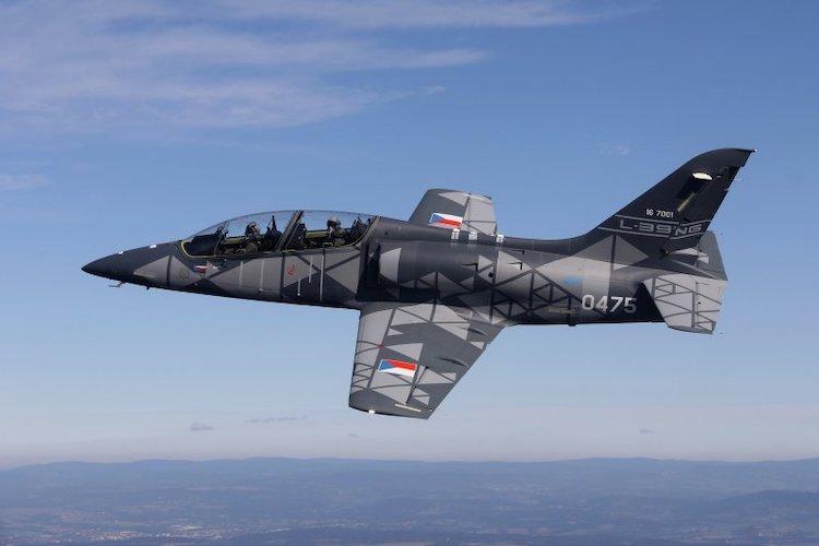 Sérii dalších testů byla stanovená letová obálka letounu L-39NG