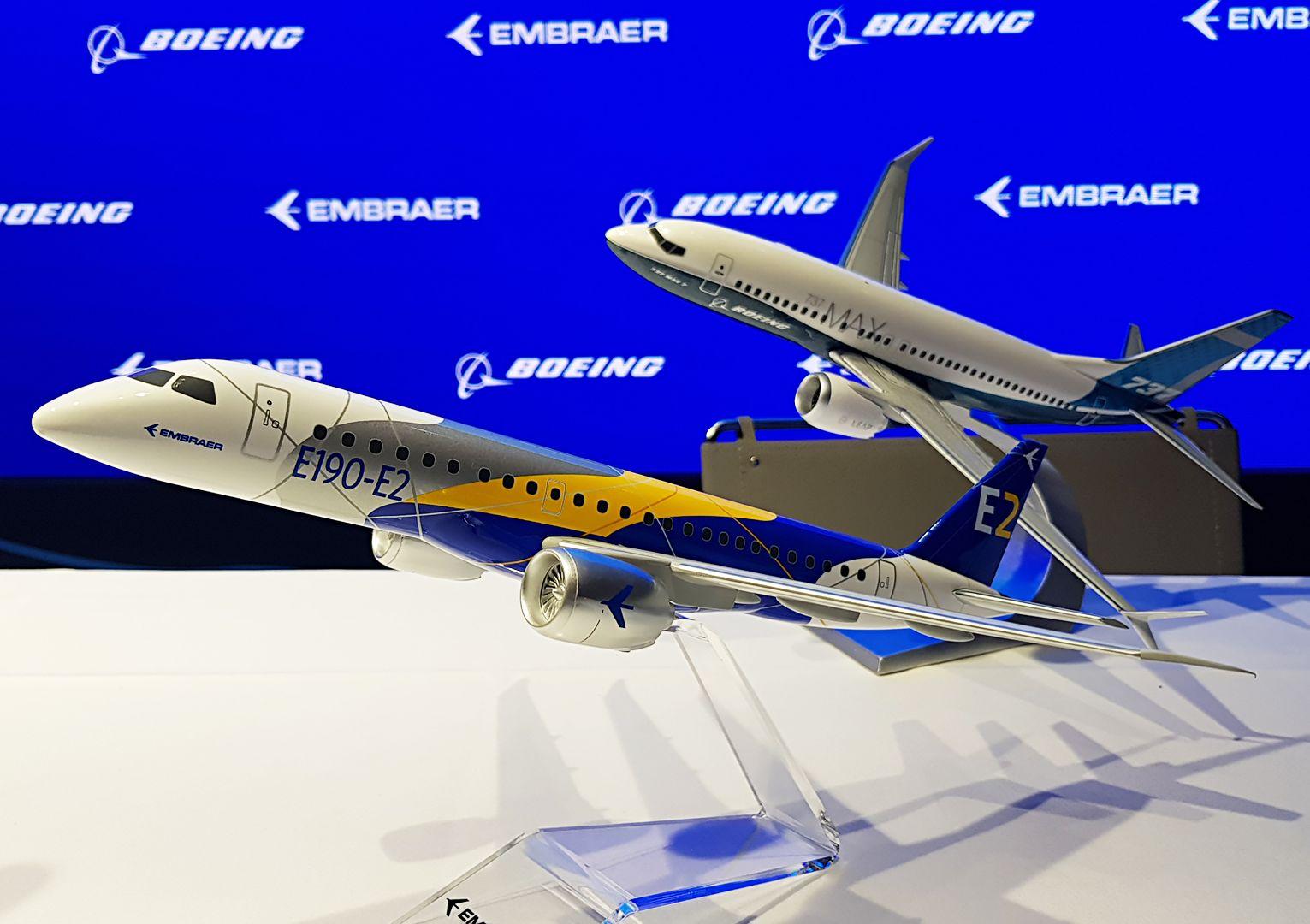 Boeing nakonec Embraery vyrábět nebude, od plánu ustoupil