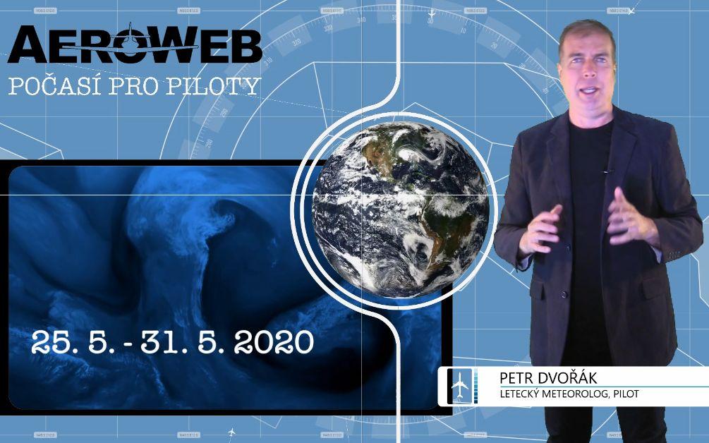 NOVINKA: Videopředpověď počasí pro piloty dvakrát týdně