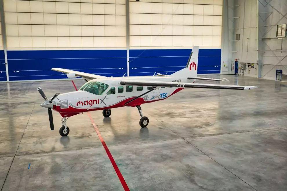 Čistě elektrická Cessna Grand Caravan absolvovala první let