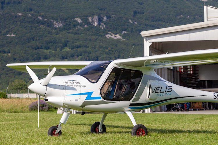 EASA certifikovala první elektrický letoun, Pipistrel Velis Electro