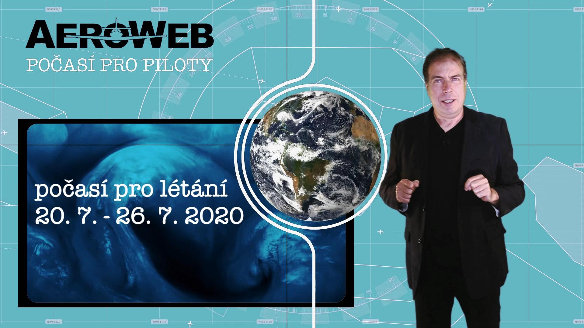 Videopředpověď počasí pro piloty každý týden na Aerowebu