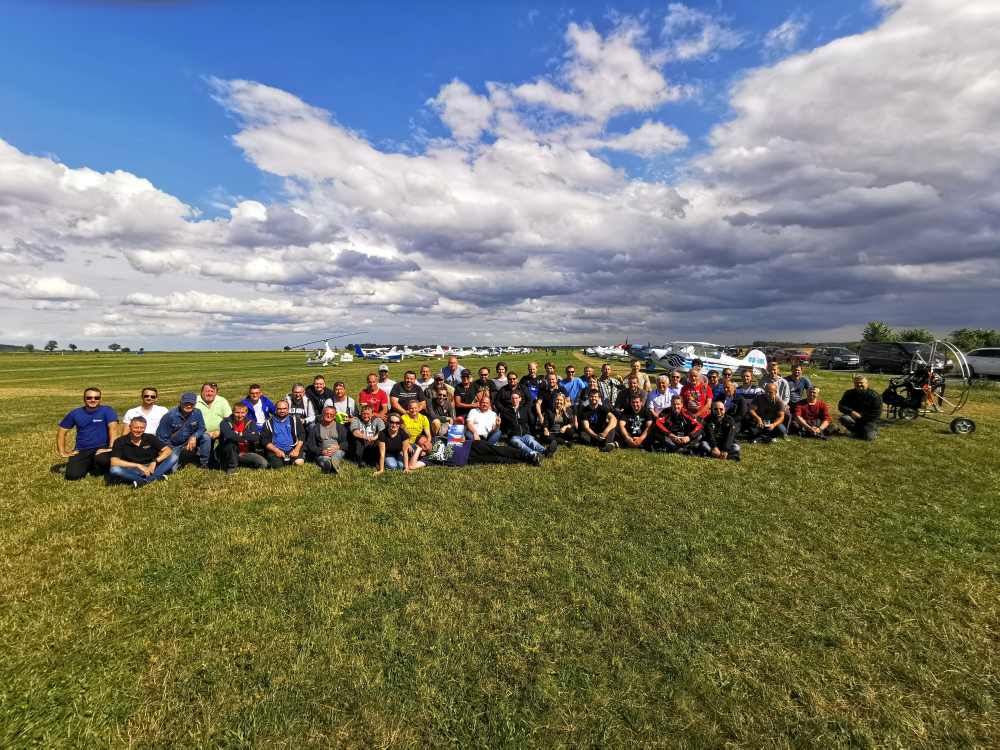 Letiště Sazená v sobotu hostilo třetí setkání pilotů