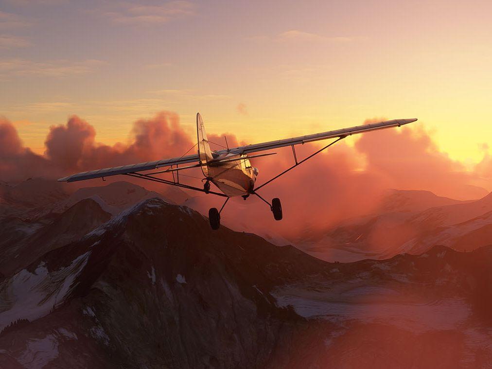 Microsoft zveřejnil datum vydání nového Flight Simulatoru a zahájil předprodej