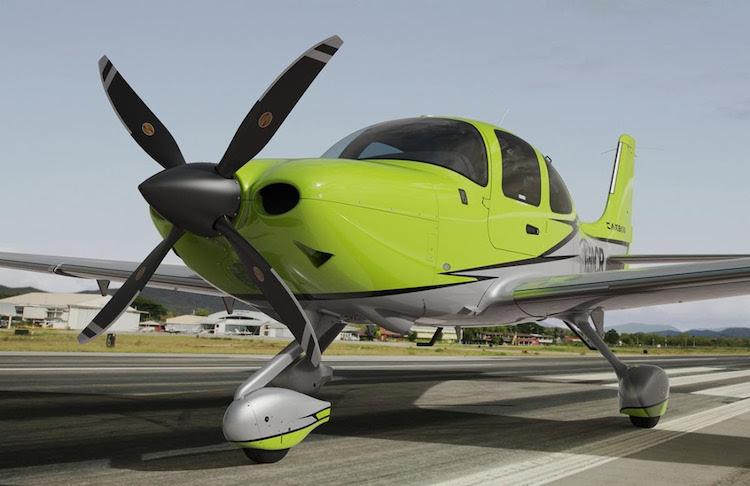 Letouny Cirrus je nově možné vybavit čtyřlistou vrtulí Hartzell