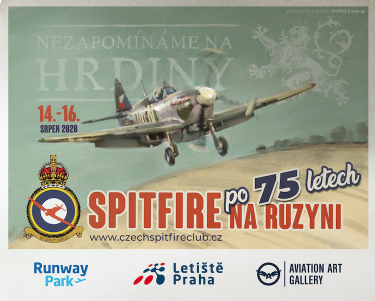 V Ruzyni o víkendu připomenou 75. výročí příletu pilotů RAF