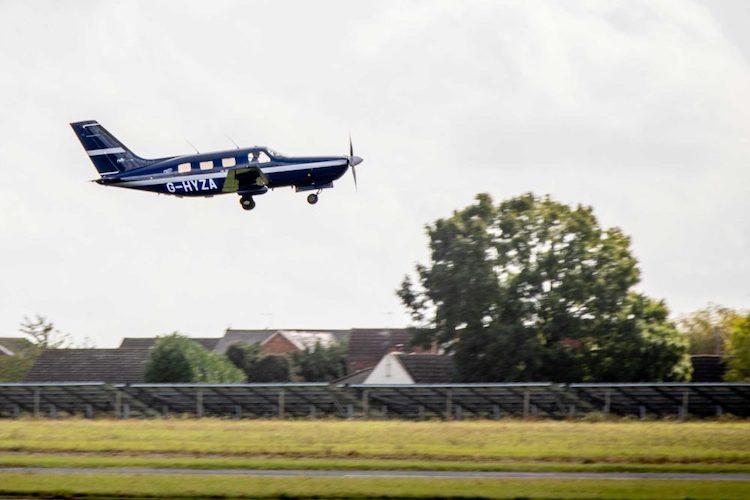 Piper Malibu na vodíkový pohon absolvoval první úspěšný let