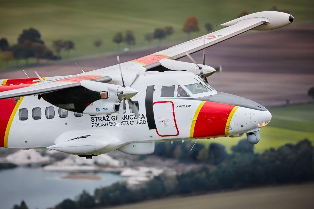 Polská pohraniční stráž získala dva nové letouny L 410