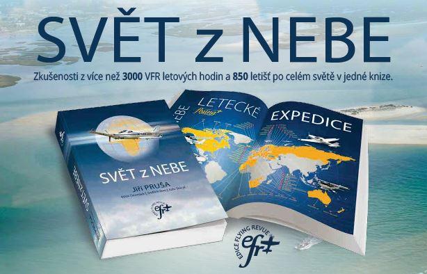 Flying Revue vydává novou knihu Jiřího Pruši a speciál o meteorologii
