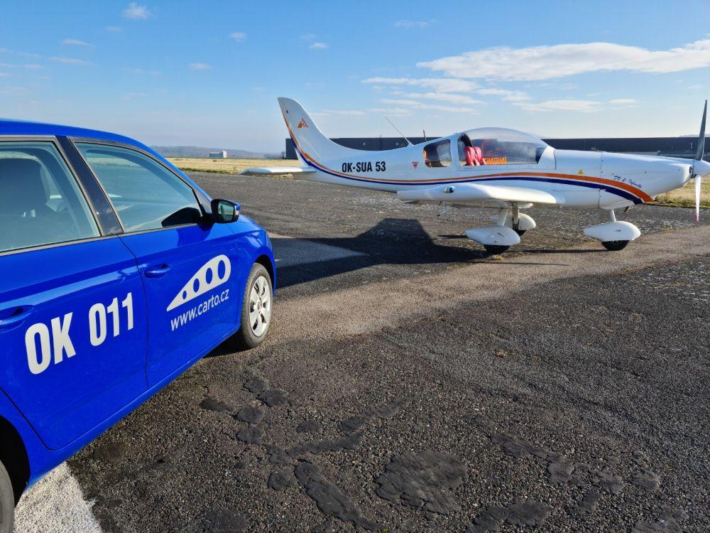 Startuje nová služba: Carto - autopůjčovna pro piloty