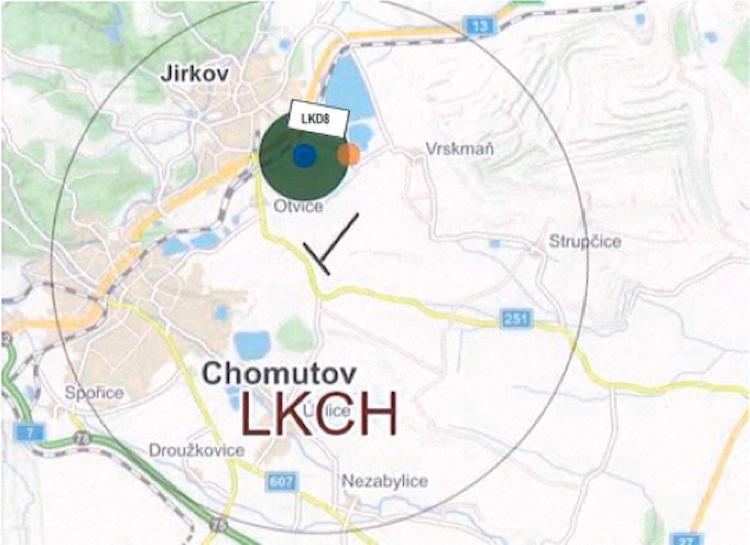 Nedaleko letiště Chomutov vzniká nový nebezpečný prostor