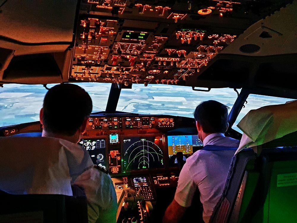 VIDEO: Výcvik RTS na simulátoru Boeingu 737 MAX