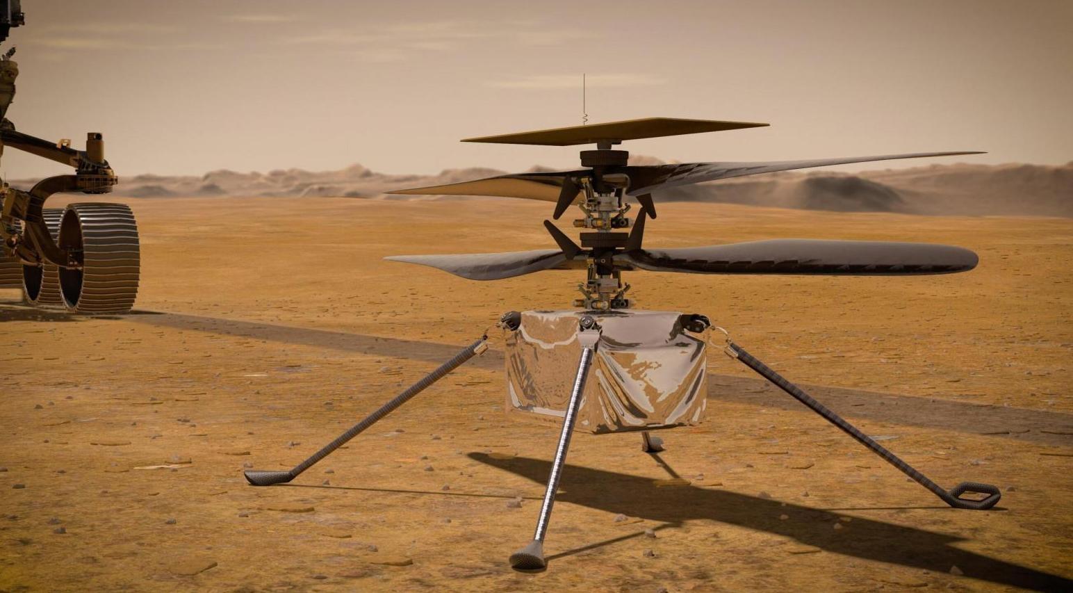 Jak se létá na Marsu