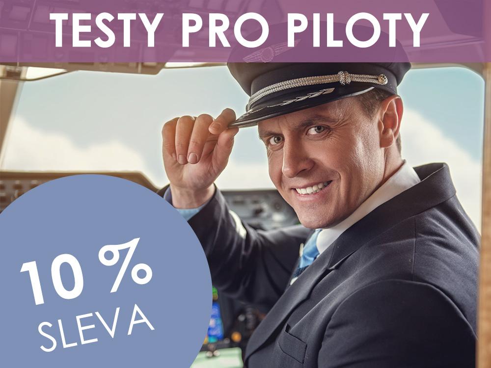 Startujeme sezónu! Testy pro piloty i další produkty nyní se slevou 10 %