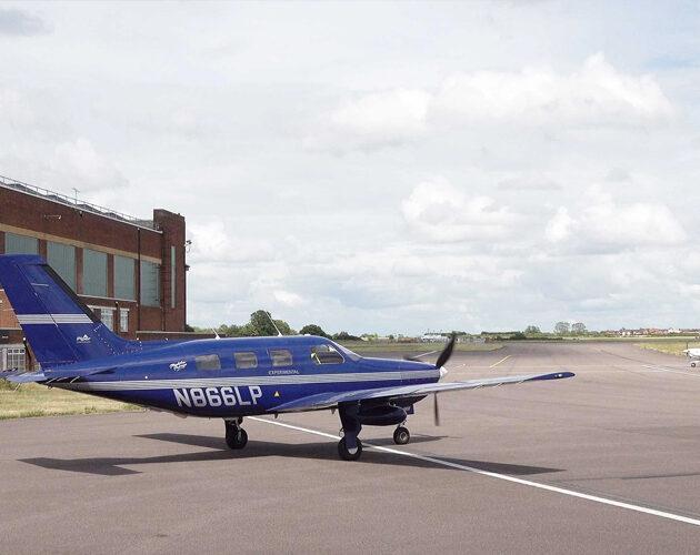 Vodíkový Piper Malibu havaroval během nouzového přistání