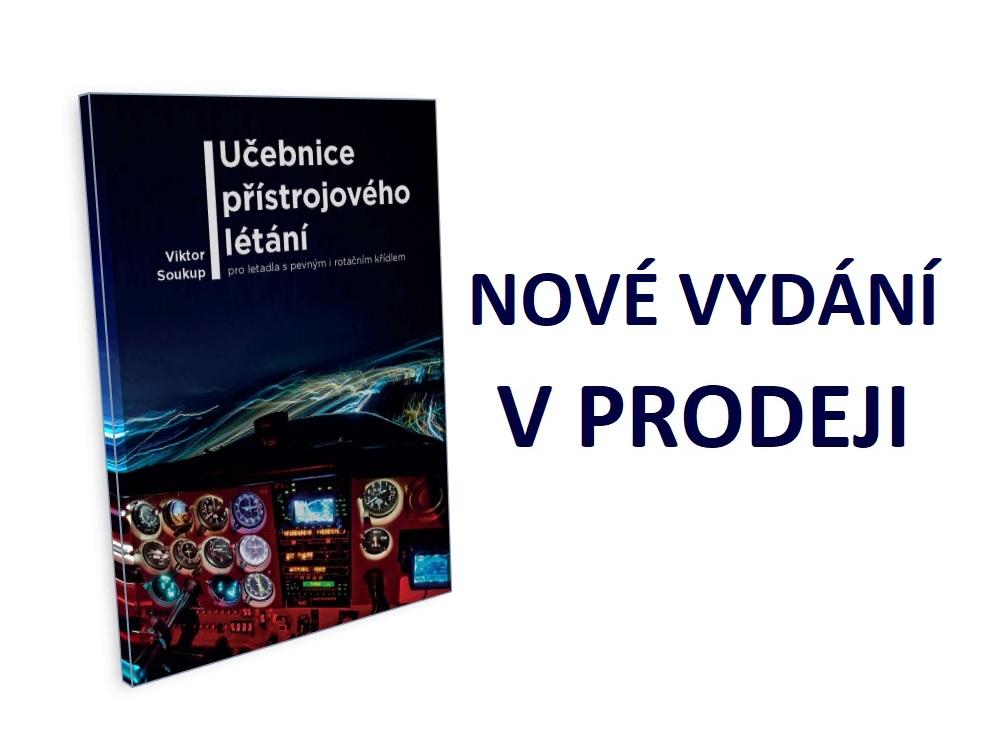 Právě vychází druhé vydání české učebnice o přístrojovém létání