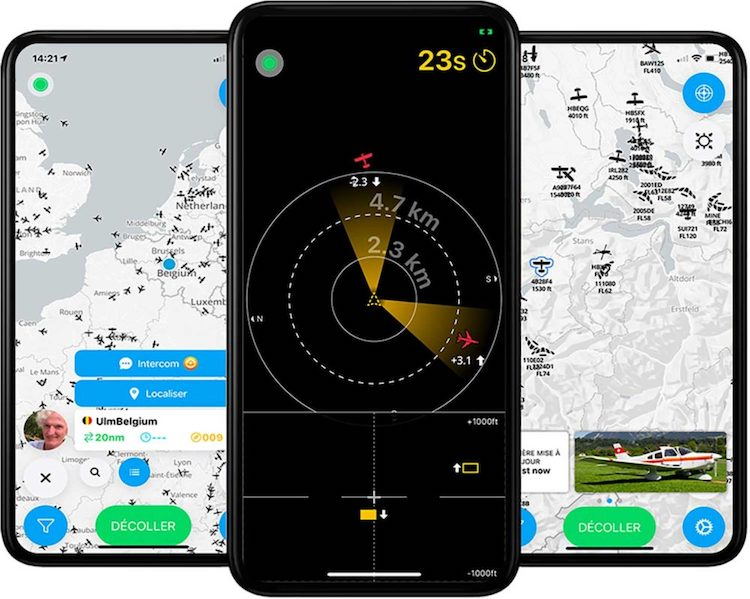 Nová aplikace SafeSky pomáhá předcházet kolizím ve vzduchu