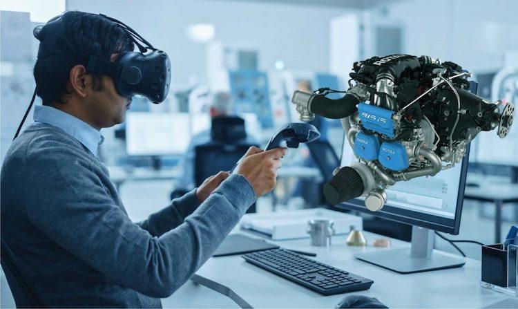 Rotax začal vytvářet virtuální kopie motorů, které mají usnadnit údržbu