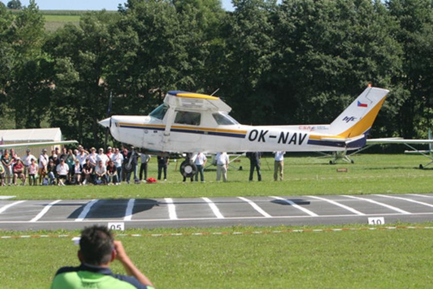 Severočeská regionální soutěž v přesném létání v Mostě