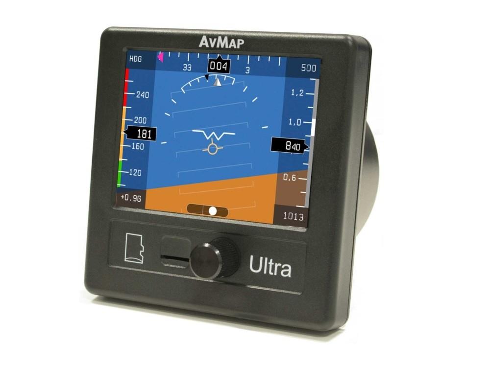 Malé zástavbové EFISy: AvMap Ultra