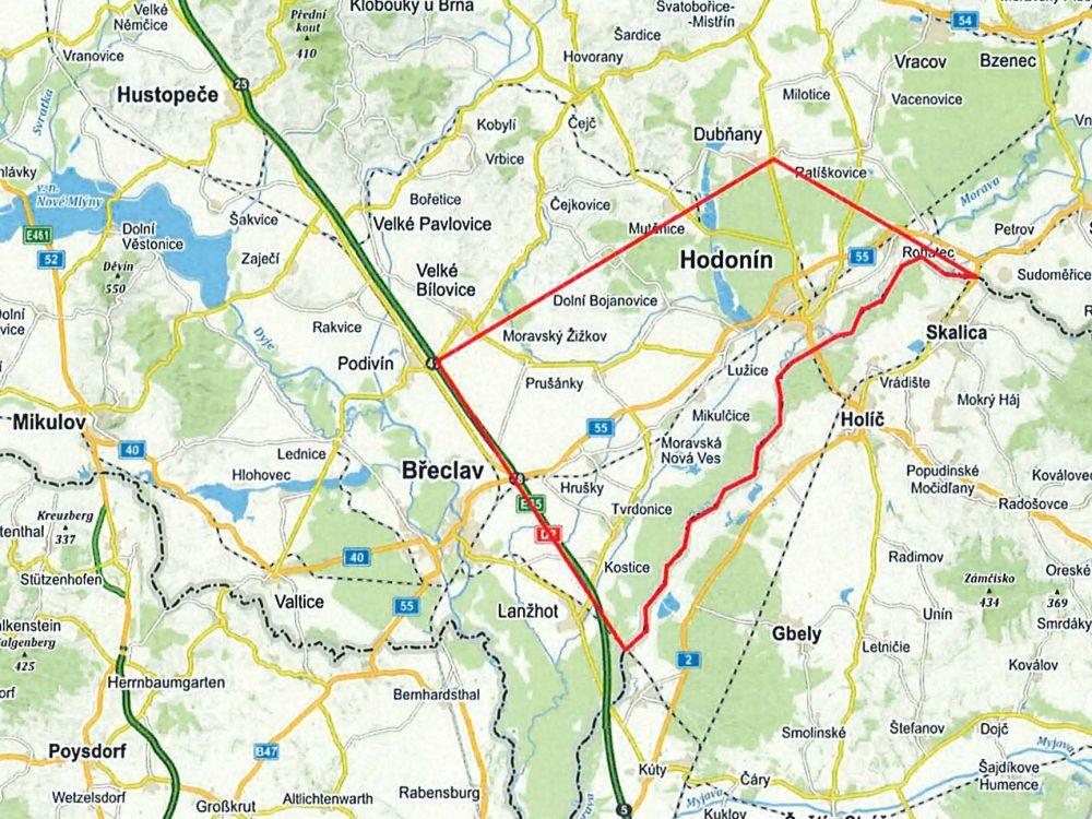 Na Moravě vytyčili Tornádo, dočasně omezený prostor do 3000 stop