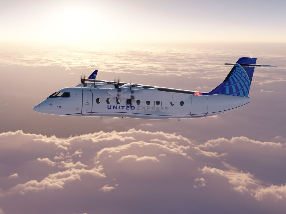Také United Airlines chtějí létat elektricky, investovaly do výroby ES-19