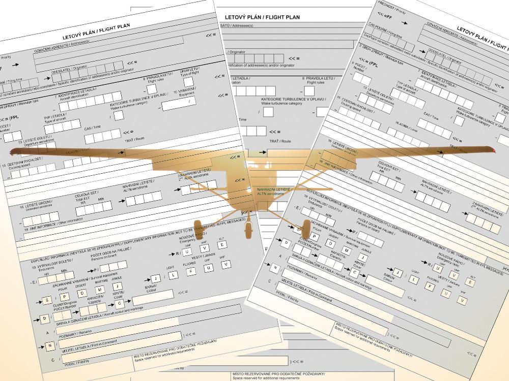 Groundschool: Letový plán